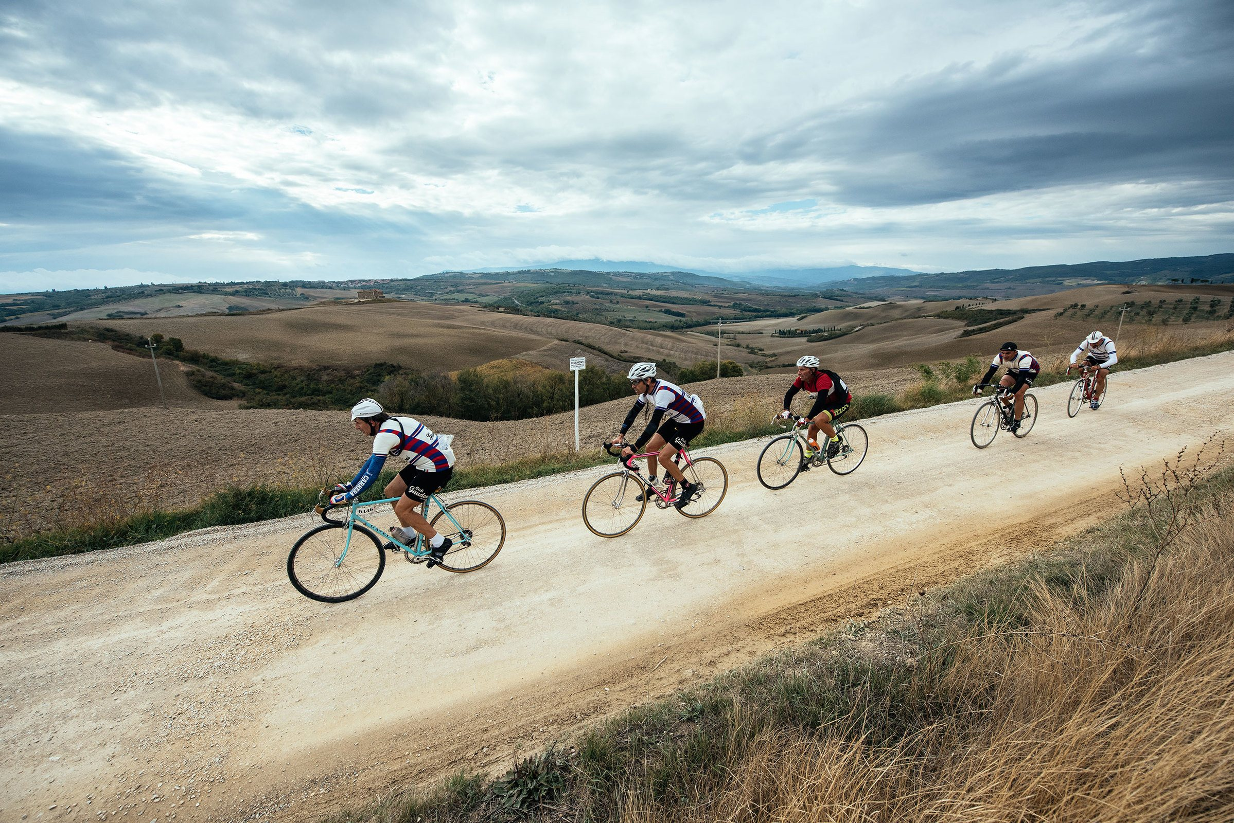 Tuscany's dirt roads reveal a myriad of hidden landscapes.