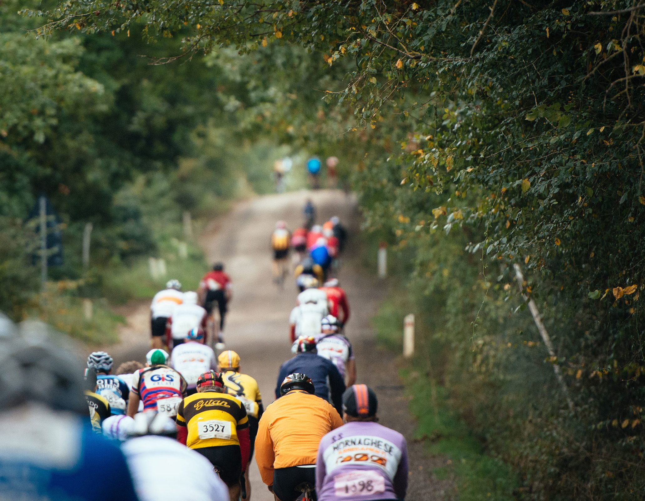 Rolling out with over 5,000 other riders onto a closed course is always a special experience.